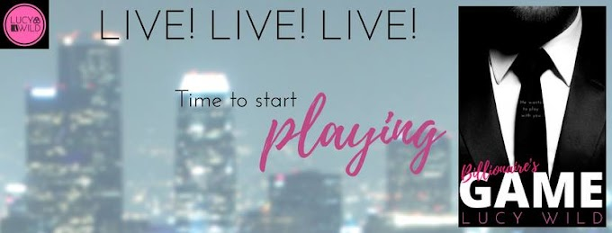 [New Release * 20 Questions] BILLIONAIRE'S GAME by Lucy Wild @misslucywild #20Qs #Giveaway #Interview!