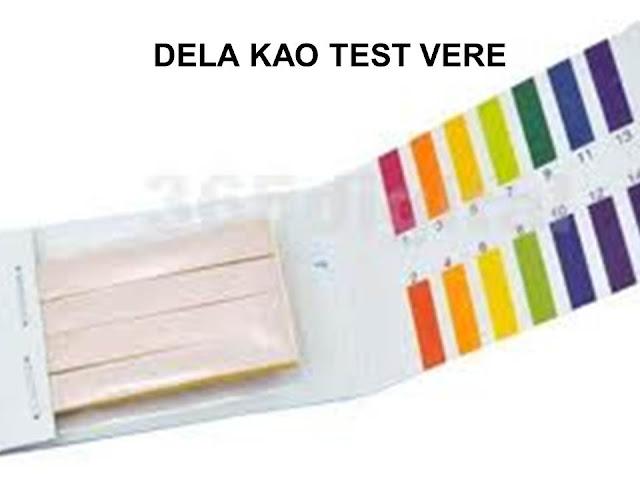 Lakmus papir - test