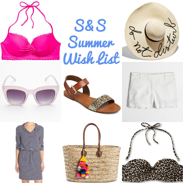 scarves and sweets summer wish list
