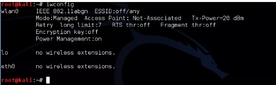 how to hack a wifi password using kali linux