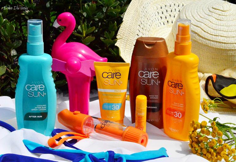 """Avon Care Sun+ skuteczna ochrona i piękno skóry latem - wakacyjne i codzienne niezbędniki """" słoneczne """""""