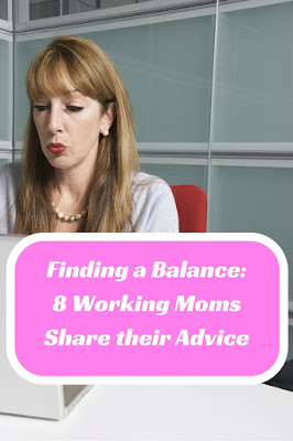 finding balance as a working mom