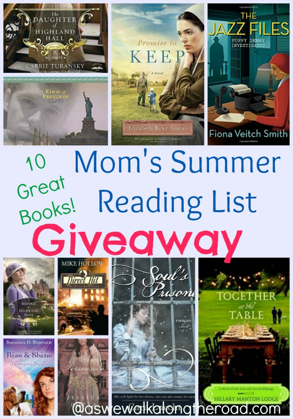 Christian fiction giveaway