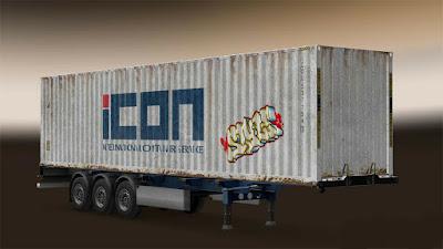 trailer kontainer