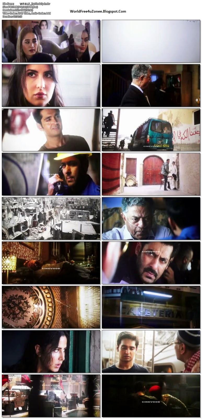 Tiger Zinda Hai (2017) Hindi Pre-DVDRip 720p 700MB Full Movie Free Download And Watch Online Latest Bollywood Hindi Movies 2017 Free At WorldFree4uZonee.Blogspot.Com
