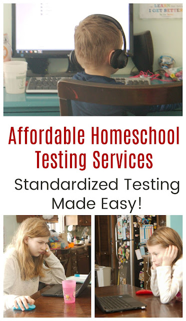 Online Standardized Testing for Homeschools
