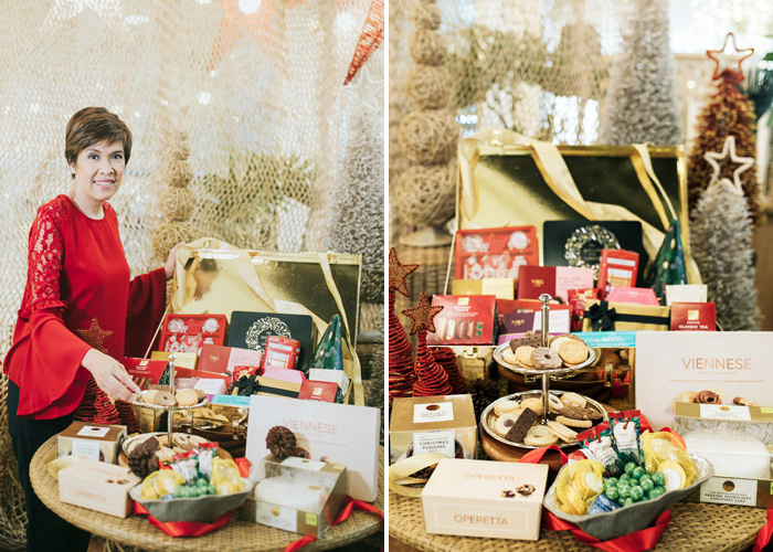 Pastry Chef Booboo Maramba shares her top 20 M&S Christmas Food gift ideas