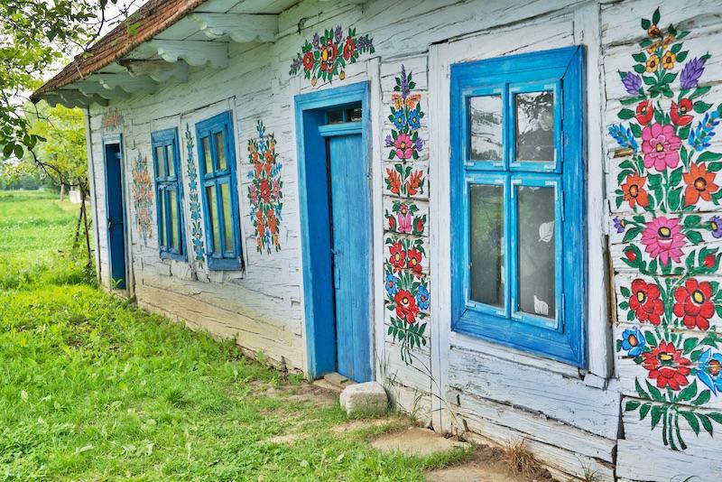 Gdzie leży Zalipie, Malowana wieś, Najpiękniejsza polska wieś, Zalipie co zobaczyć