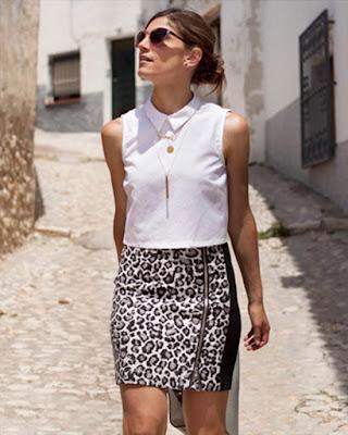 outfit de verano animal print
