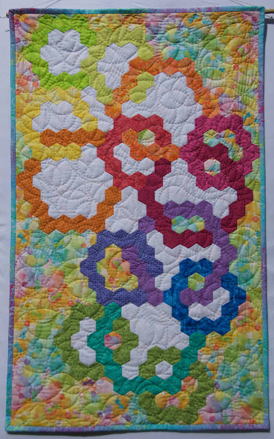 EPP, hand appliqué, hand quilting