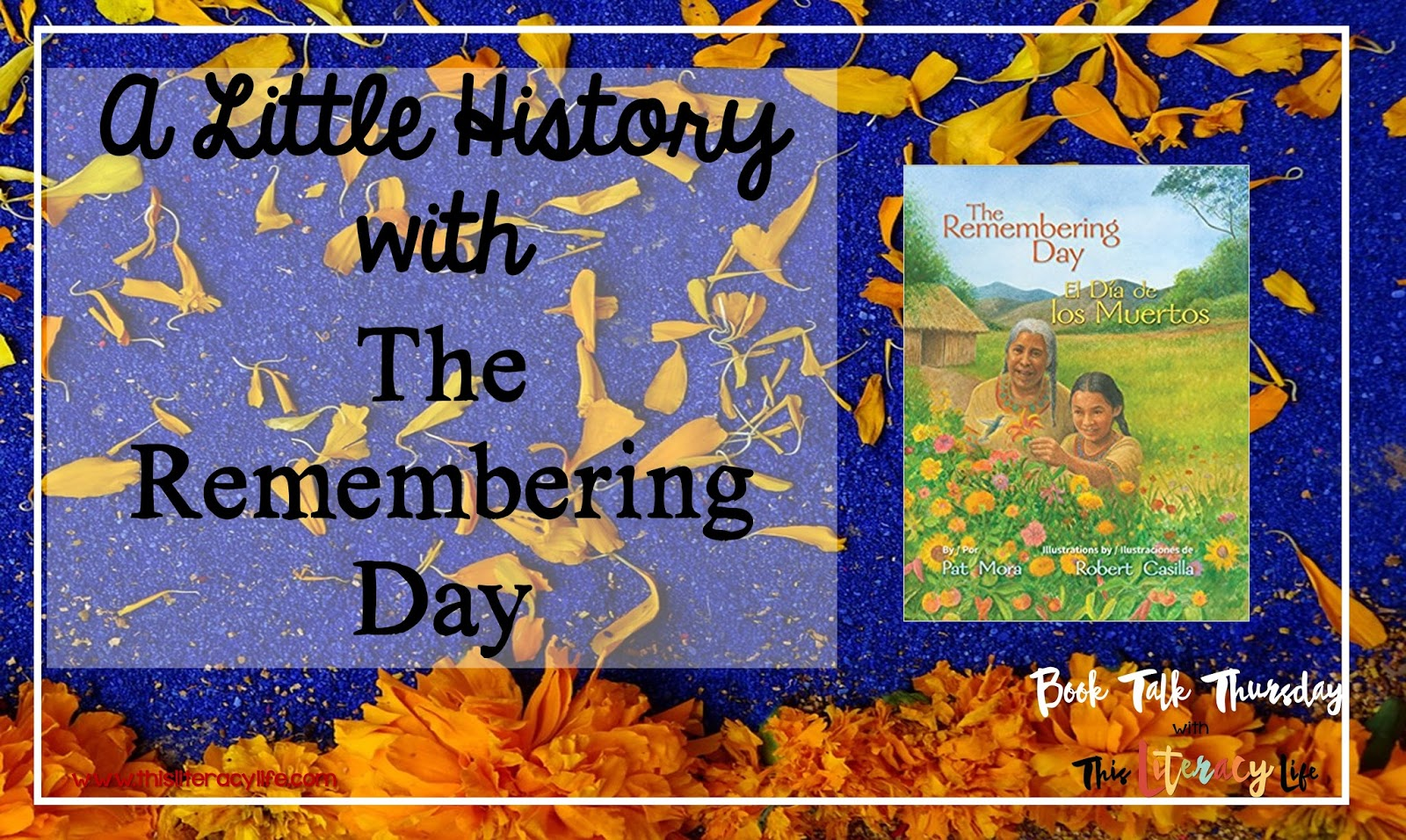 A tradition from Old Mexico, The Remembering Day is a wonderful story reminding us what this day is all about.