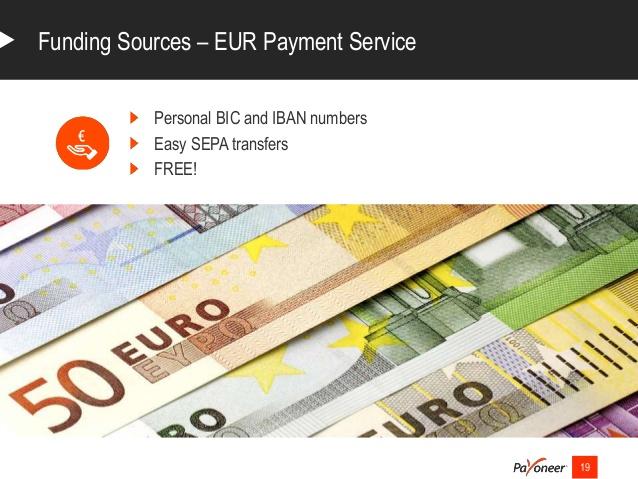 Prepaid Card For Eur Balance
