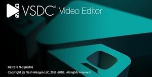 برنامج حديث لتعديل الفيديو VSDC Free Video Editor أحدث إصدار