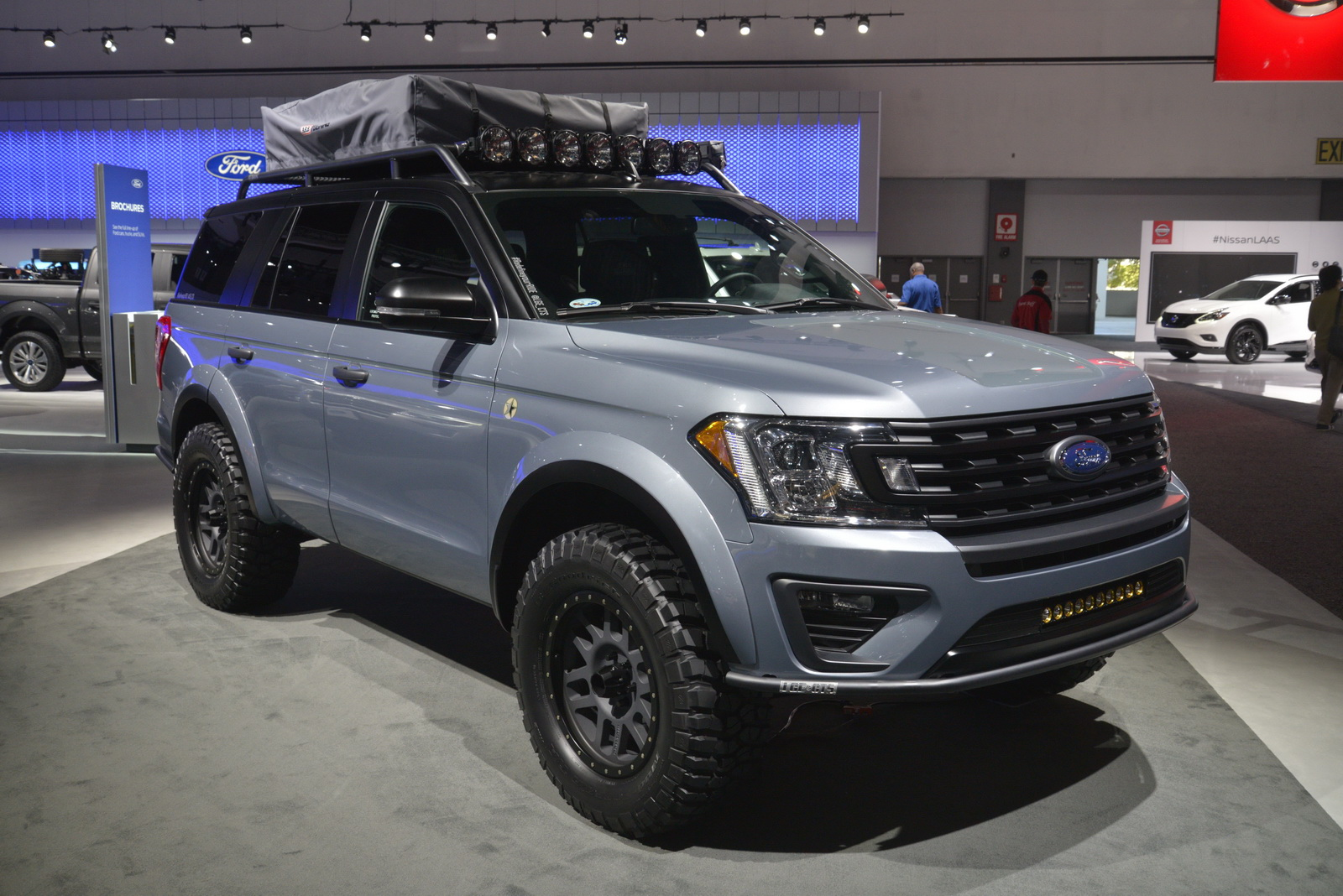 "Ford Expedition ""Baja-Forged Adventurer"" Winks At Raptor ..."