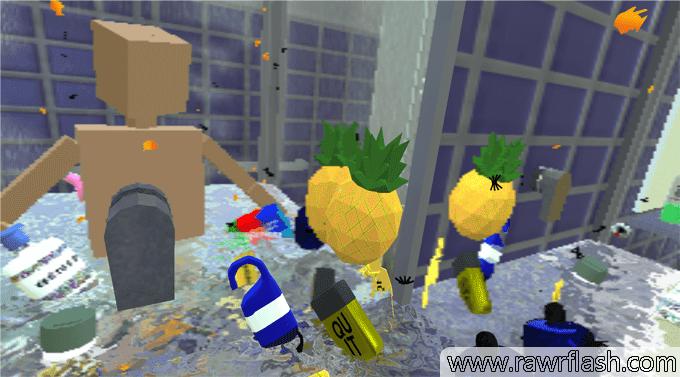 Jogos de simulação: Simulador de banho, Shower Game