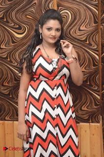 Telugu Actress Vasavi Reddy  Pictures in Short Dress  0016