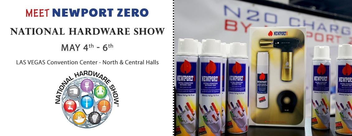 NEWPORT Zero Butane: Newport Zero at the National Hardware