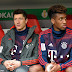 Bayern Munich's Robert Lewandowski and Kingsley Coman come to blows in heated training session