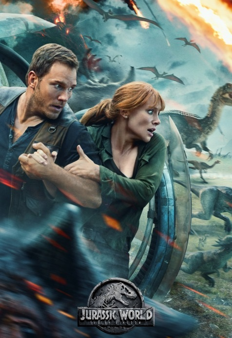 Jurassic World: Fallen Kingdom [2018] [DVDR] [NTSC] [V2] [CUSTOM HD] [Subtitulado]