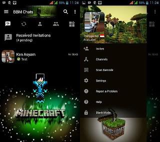 BBM Mod Minecraft V3.2.5.12 Apk [Trangga Ken]