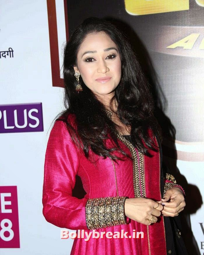 Disha Vakani, Popular Tv Actresses on The Red Carpet of 7th Boroplus Gold Awards