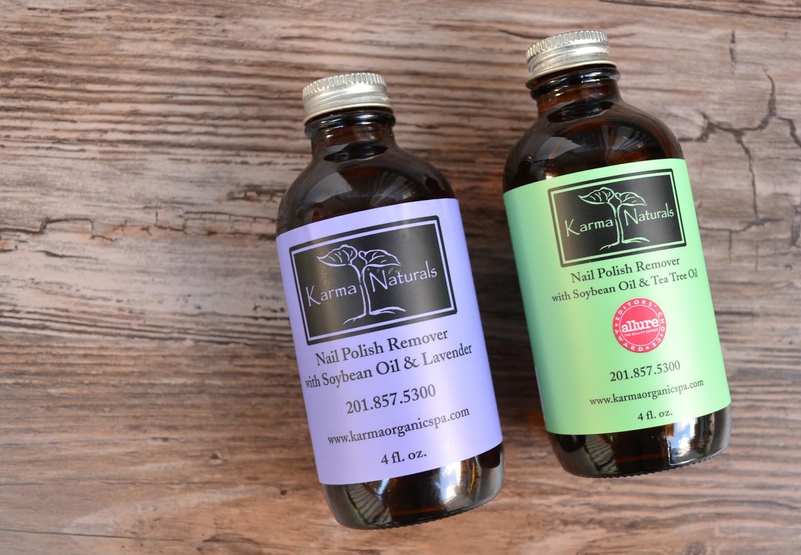NAILS | Karma Organic Acetone-Free Soybean Nail Polish Remover ...
