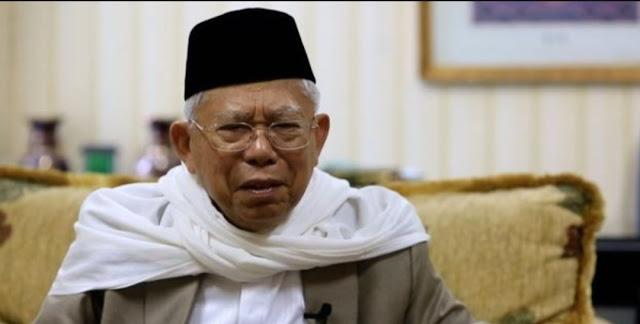 Tepis Sindiran Prabowo, Ma'ruf: Utang Boleh dalam Islam