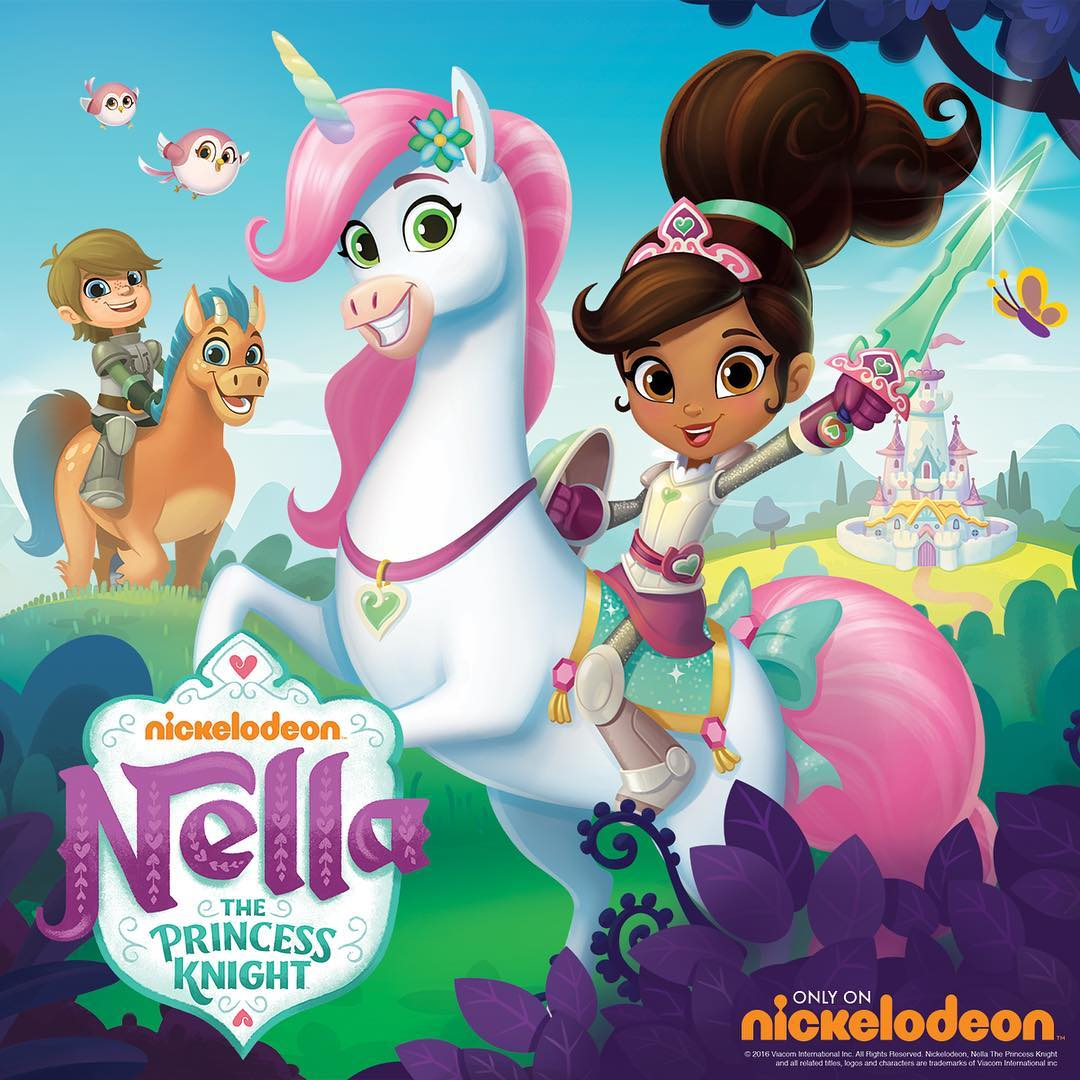 Nickalive Sunny Day And Nella The Princess Knight To