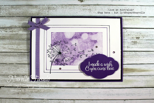 Bring back childhood memories with projects using the beautiful Dandelion Wishes stamp set. Get yours here - http://bit.ly/DandelionWishesStamp