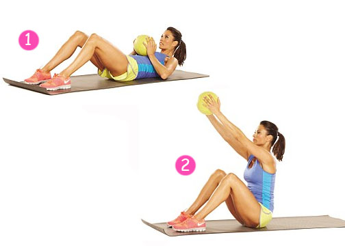 Image result for Full Weighted Sit-Ups