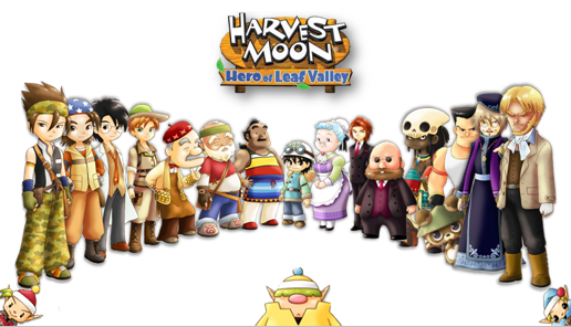 Download Game Harvest Moon Hero of Leaf Valley PPSSPP ISO for Android
