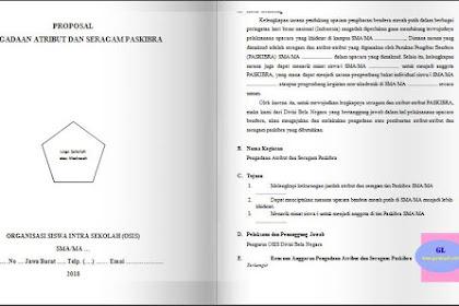 Contoh Proposal Pengadaan Perlengkapan Paskibra