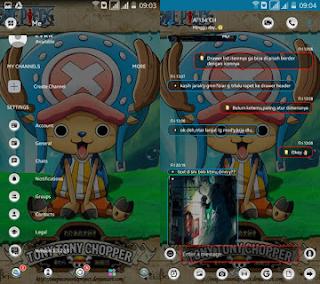 Free Download BBM MOD Transparant Tema Kalong 3.3.2.31 Apk Terbaru