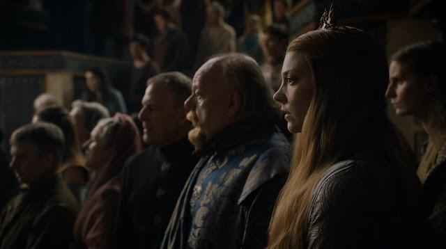 La reina consorte Tyrell, que guapa eh