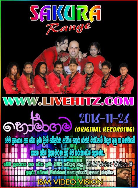 SAKURA RANGE LIVE IN HOMAGAMA 2016-11-26