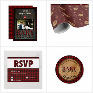Buffalo Plaid Baby Shower