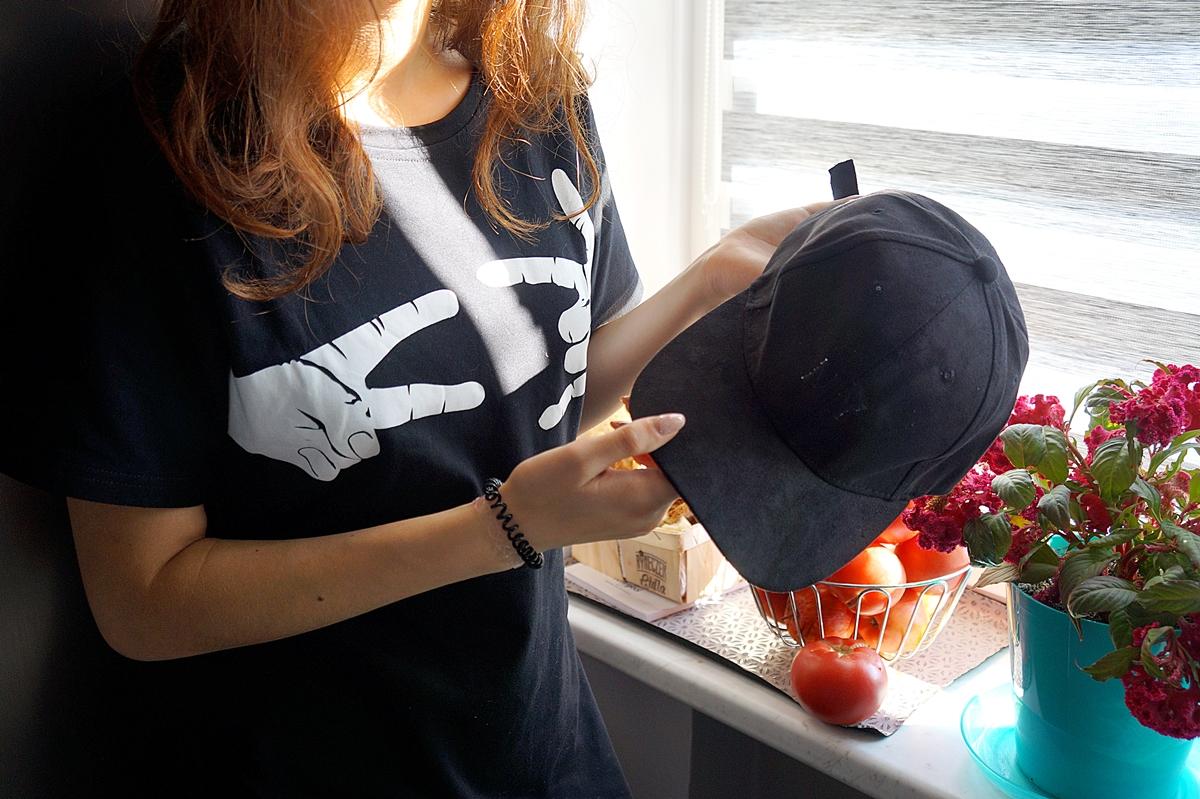 czapka z daszkiem zaful