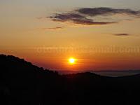 Zalazak sunca, Donji Humac otok Brač slike