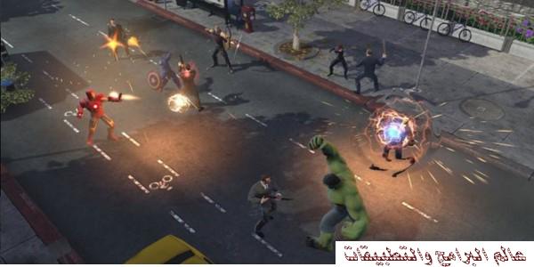 تحميل فرقة الأبطال الخارقون MARVEL HEROES للكمبيوتر برابط مباشر