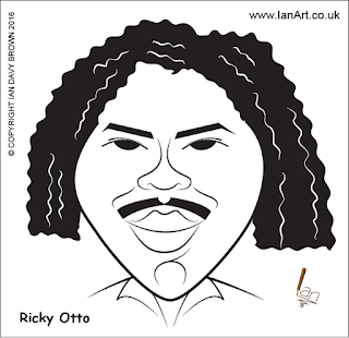Ricky Otto caricature