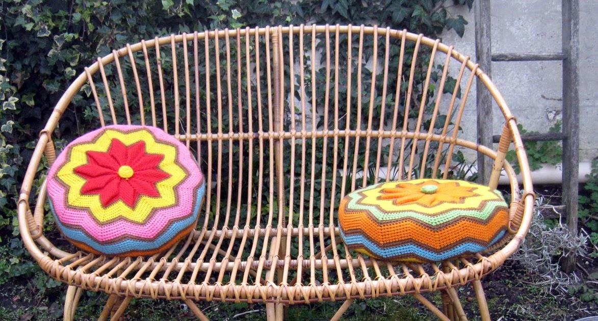 les dedees vintage recup creations banquette dans mon jardin d 39 hiver by anne. Black Bedroom Furniture Sets. Home Design Ideas