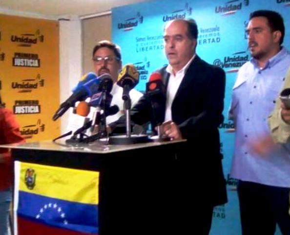 El presidente de la Asamblea Nacional (AN), Julio Borges,