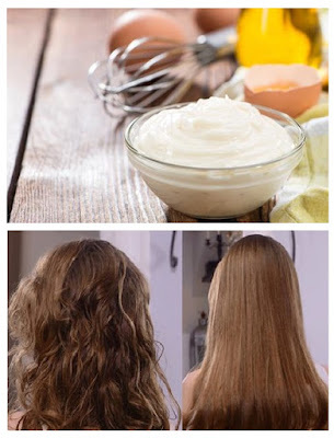 Comment lisser les cheveux sans fer avec le mélange d'œuf et du lait