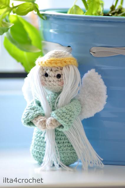 Niespodziewany gość w środku wiosny – miętowy aniołek