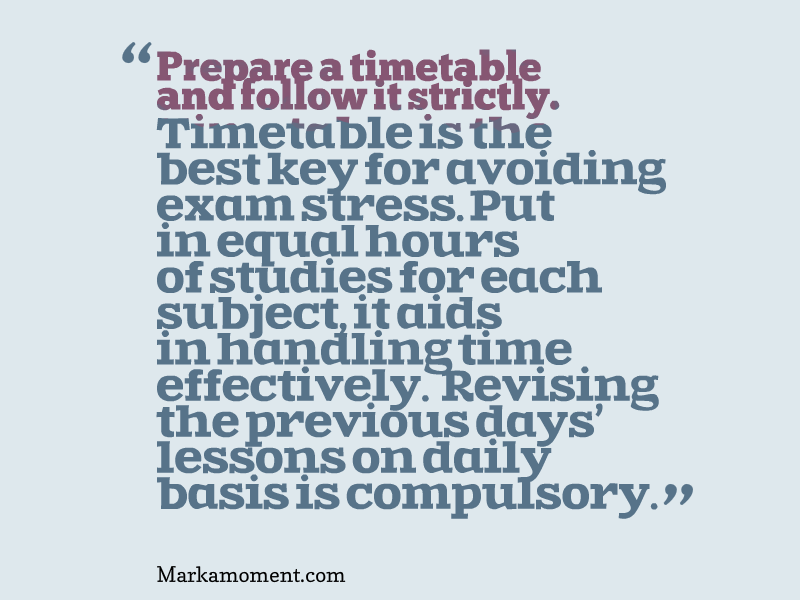 Beat the Exam Blues, Motivational Articles