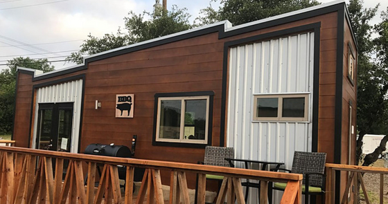 Tiny House Town The Tailgater Tiny House 224 Sq Ft