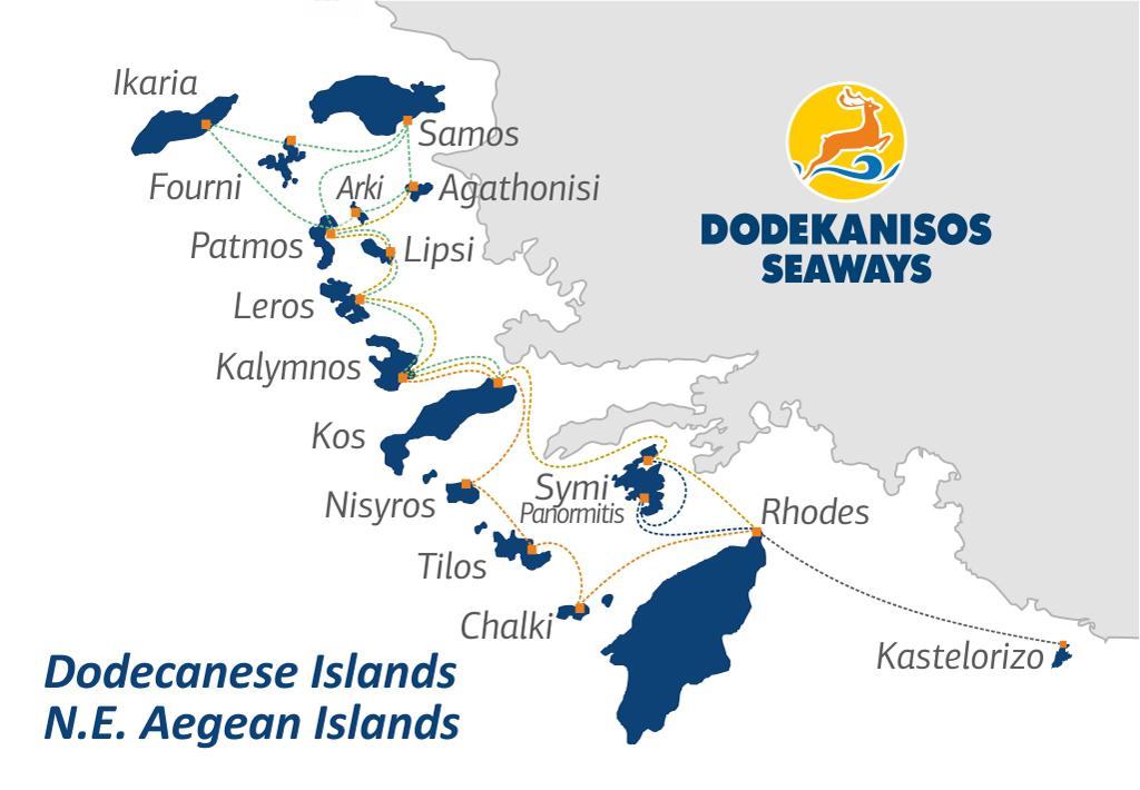 dodekanisos seaweays