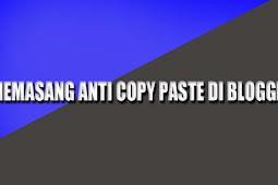 Cara Membuat Anti Copy Paste Artikel Blog