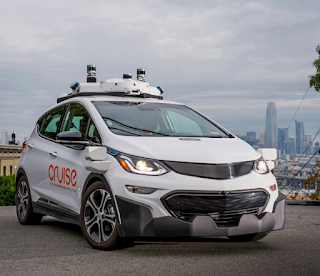 `General Motors unveils world's first fully self-driving car with no steering wheel