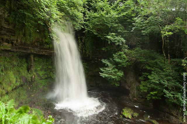 Condado de Leitrim Cascada Glencar Irlanda